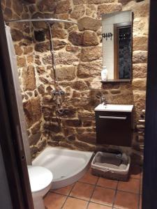 A bathroom at Loft Rural Corte de Fora