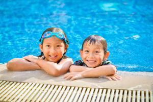 Children staying at Swissotel Hotel Phuket Patong Beach