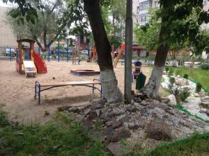 Детская игровая зона в Apartment on Komsomolskiy prospekt