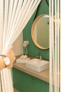 Een badkamer bij Coin de Mire Attitude