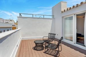 A balcony or terrace at One Shot Palacio Conde de Torrejón 09