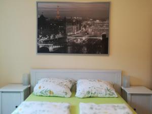 Ein Bett oder Betten in einem Zimmer der Unterkunft Appartement Lardenbach