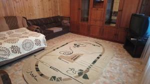 Гостиная зона в Загородный дом Бариновых