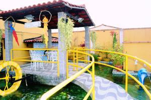 Children's play area at Pousada H&D