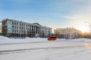 Apartment TwoPillows on Lenina 56 зимой