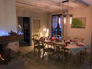 Restaurant ou autre lieu de restauration dans l'établissement Les Chambres Chez Christine