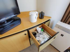 Coffee and tea making facilities at Hotel Grand Arc Hanzomon
