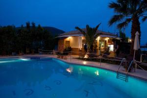 The swimming pool at or near Hotel Grand Nefeli