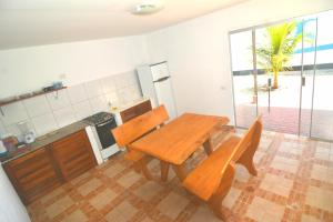 A kitchen or kitchenette at Brasil-Kite