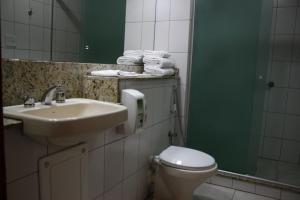 A bathroom at Apto no Union Residence