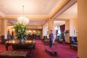 The lobby or reception area at The Hotel Windsor