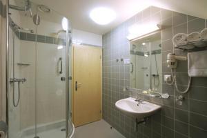 A bathroom at Hotel DAP