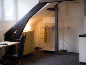 A bathroom at Relax-Aachener-Boardinghouse-Dachgeschoss