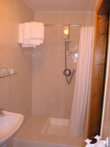 Salle de bains dans l'établissement Mountain View Guesthouse