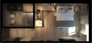 The floor plan of Ròseo Euroterme Wellness Resort