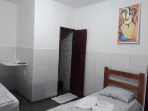 A bathroom at POUSADA OLÍMPIA