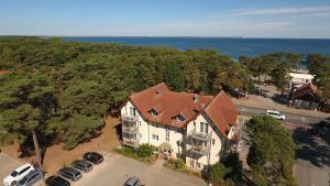 A bird's-eye view of Hotel Garni Meeresblick
