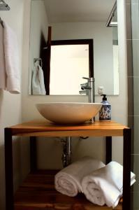 A bathroom at Magdalena Guest House