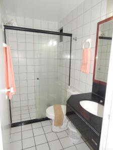 Um banheiro em BT Flats