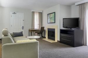 A television and/or entertainment center at Residence Inn St. Petersburg Clearwater