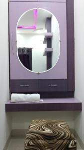 A bathroom at Hotel Nikunj