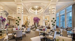 A restaurant or other place to eat at The Peninsula Chicago