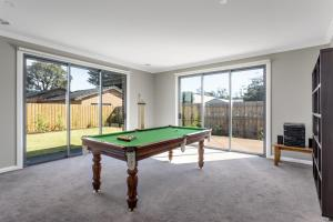 A billiards table at Luxury Capel Sound