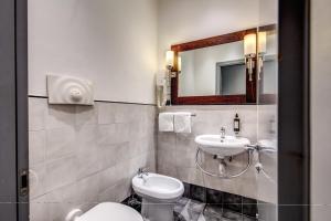 Ένα μπάνιο στο Hotel Giuggioli