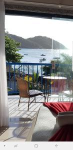 A balcony or terrace at Coronado Beach Hotel