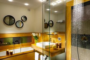 A bathroom at Babuino 181 - Small Luxury Hotels of the World