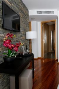 A cozinha ou cozinha compacta de LBV House Hotel