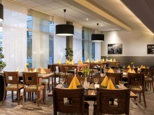 A restaurant or other place to eat at ibis Dortmund West