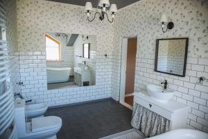 Ванна кімната в Dacha