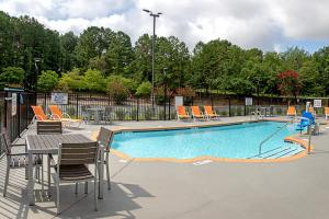 The swimming pool at or near Best Western Plus University Inn & Conference Center