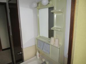 ロッジ ヴィラ 八方にあるバスルーム