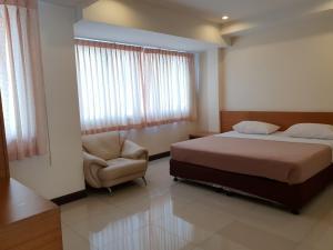 Cama o camas de una habitación en Penpark Place