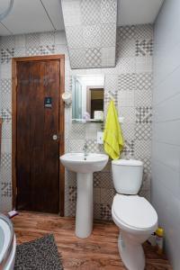 Ванная комната в Хостел Кислород O2