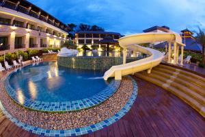 Ein Wasserpark im Resort oder in der Nähe