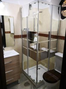 A bathroom at Casona de San Andrés