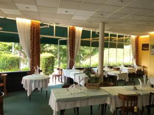 A restaurant or other place to eat at Logis Terrasse Hôtel