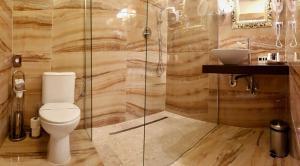 A bathroom at Parkhotel Brno