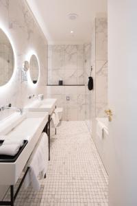 Ein Badezimmer in der Unterkunft Tortue Hamburg