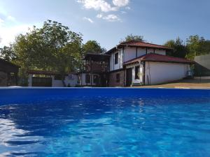 """The swimming pool at or near Villa """"André"""""""