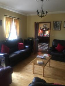 Istumisnurk majutusasutuses Deerpark Manor Bed and Breakfast