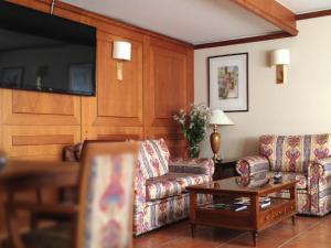 Гостиная зона в Hotel Xalet Verdú