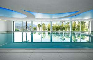 The swimming pool at or close to The View Lugano