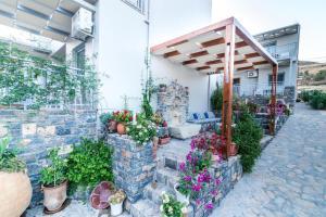 A garden outside Athina Residence