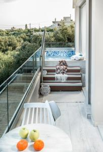 A view of the pool at Kallia Luxury private or nearby