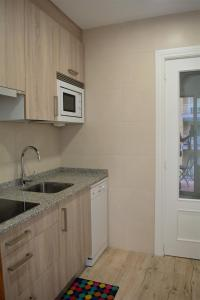 Una cocina o zona de cocina en B&B LOS LLANOS