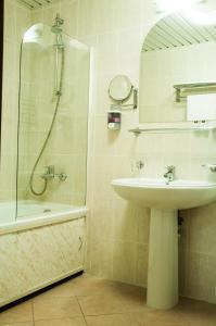 Ванная комната в Отель Лагуна
